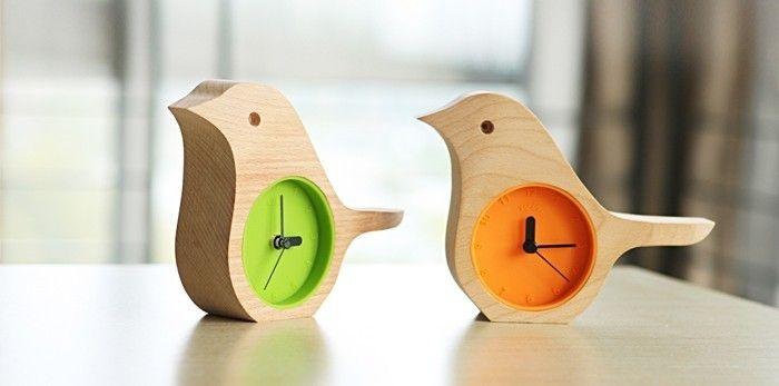 birds clock