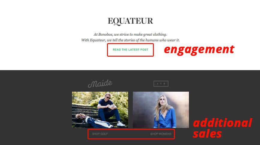 скриншот письма Bonobos с подтверждением заказа