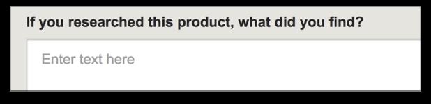 Попросите пользователей описать, как они пришли к покупке