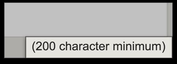 Ограничивайте минимальное количество слов для текста отзыва