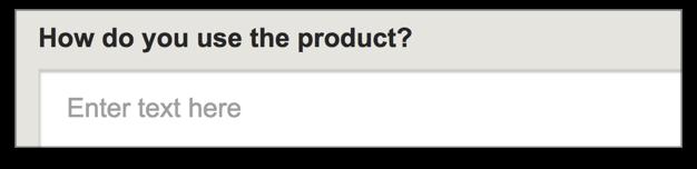 Попросите описать, как они используют продукт