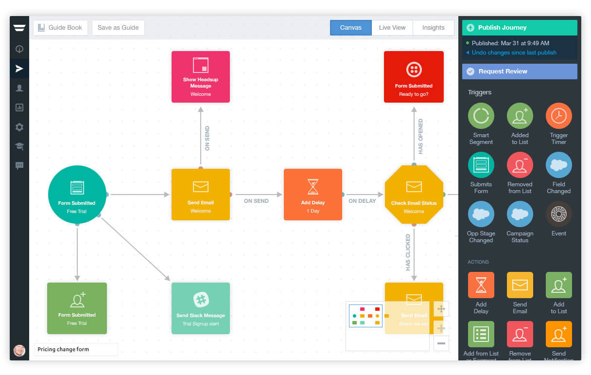 сервисы автоматизации маркетинга - Autopilot