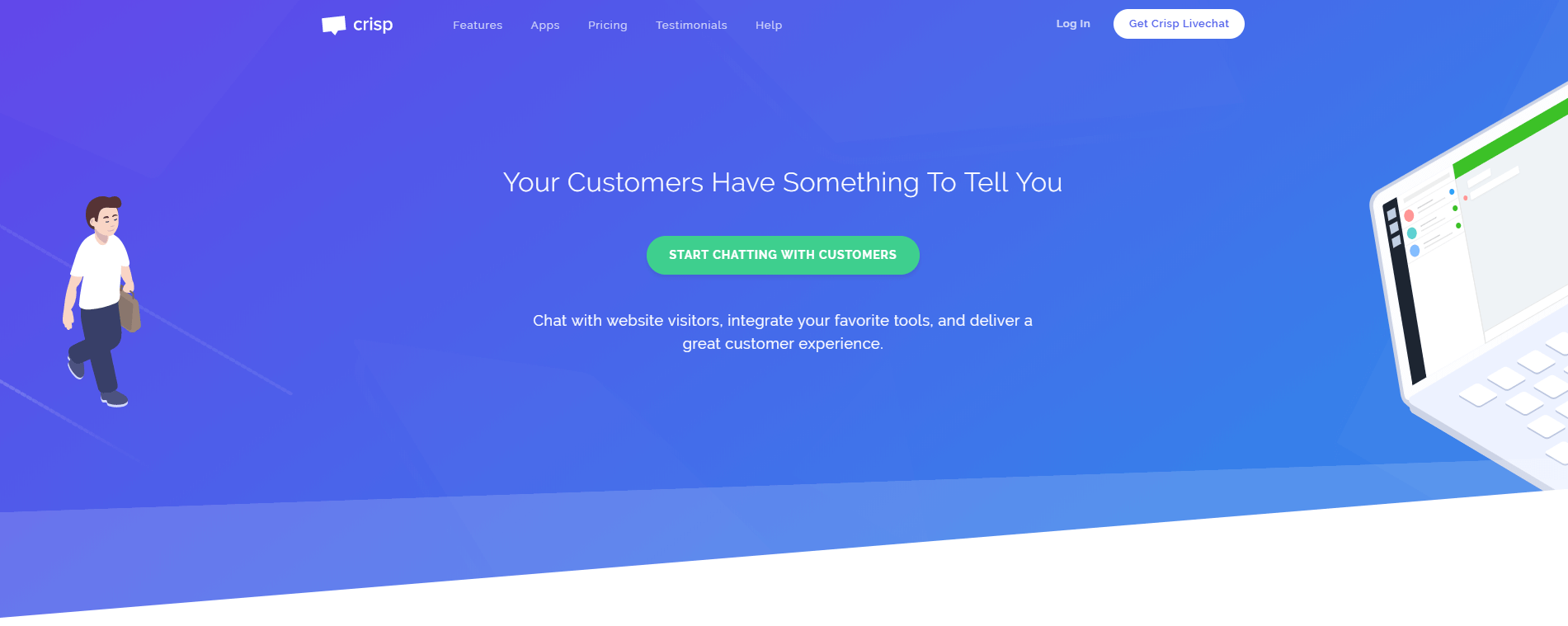 Обзор онлайн-консультантов на сайт - Crisp
