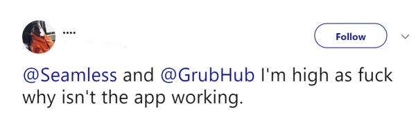 Ответ на жалобы Grubhub