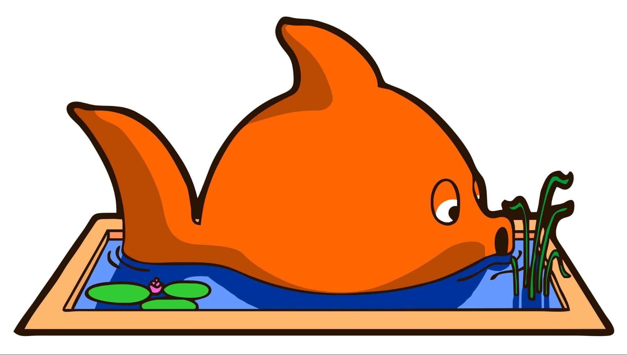 большая рыба в маленьком пруду