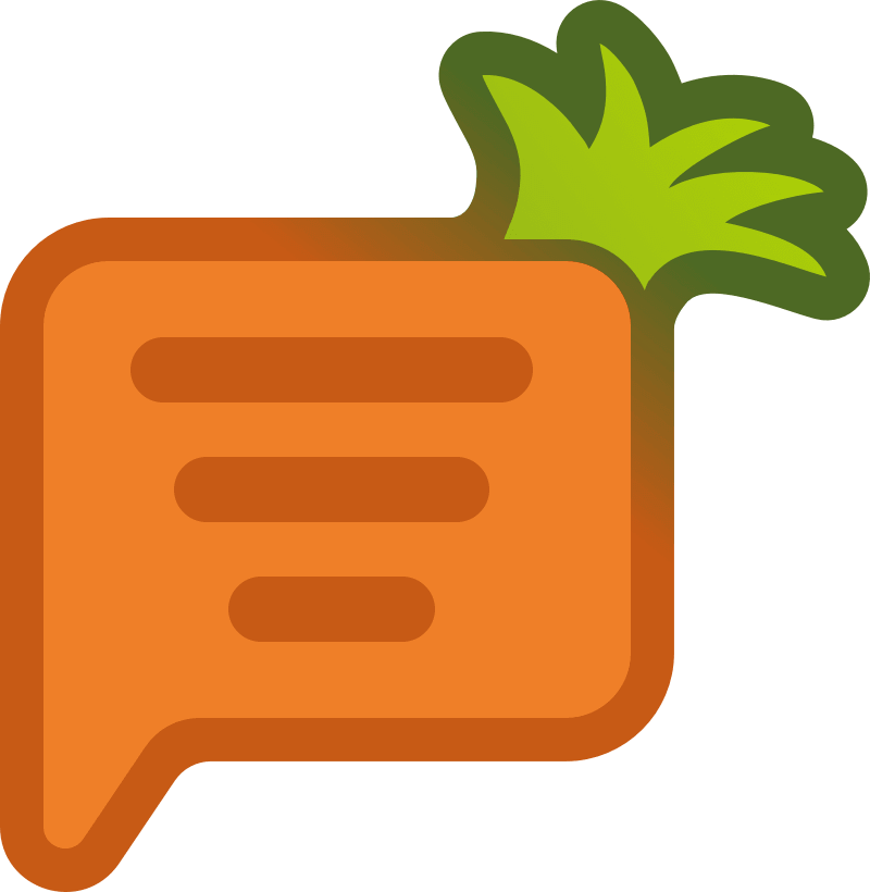 логотип Carrot quest