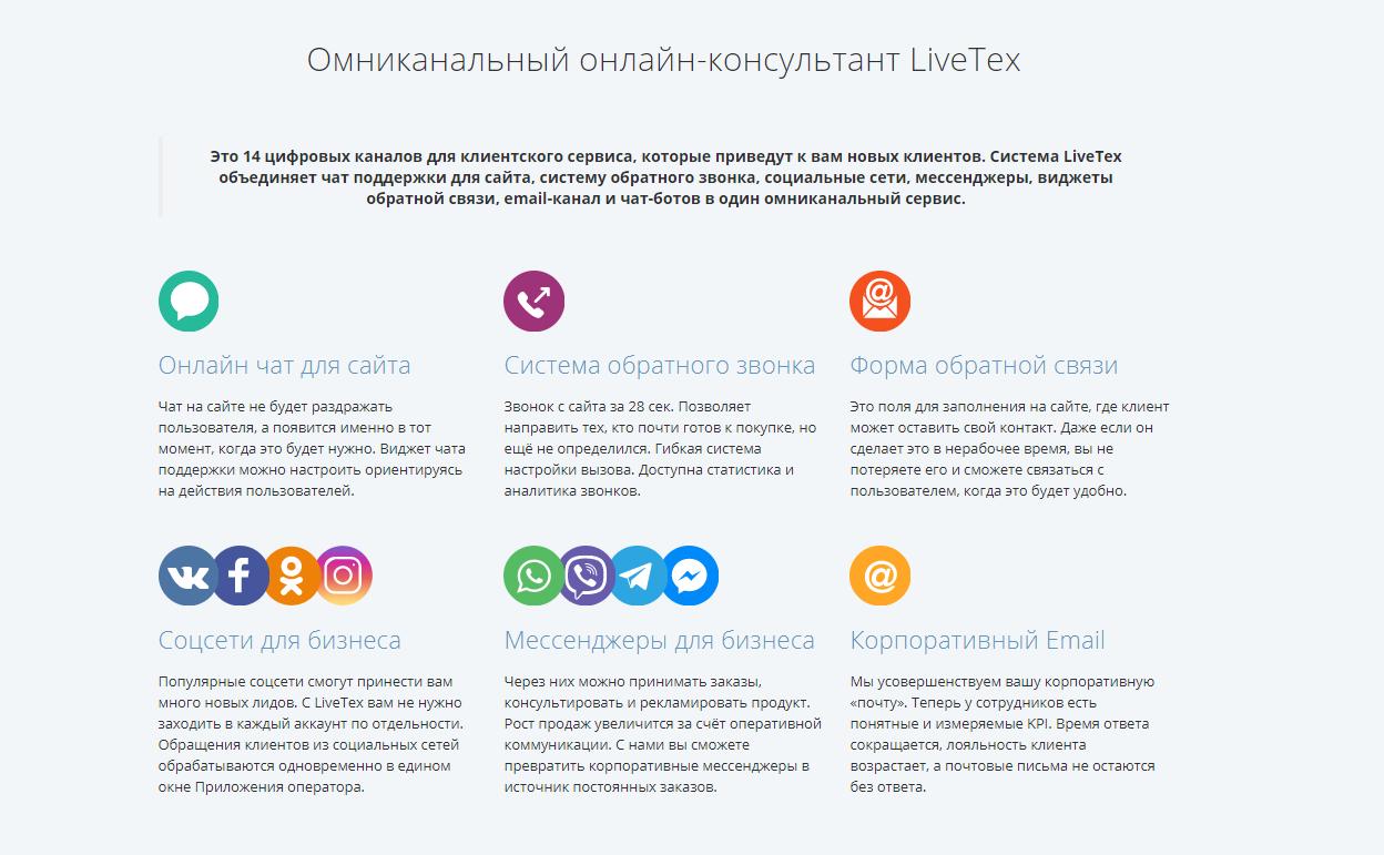 LiveTex главная
