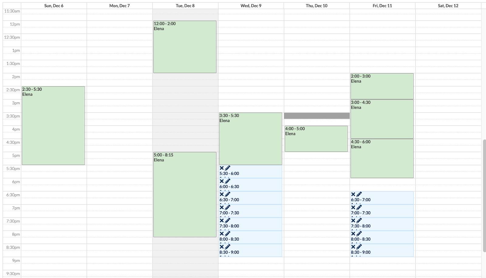 календарь User Interviews