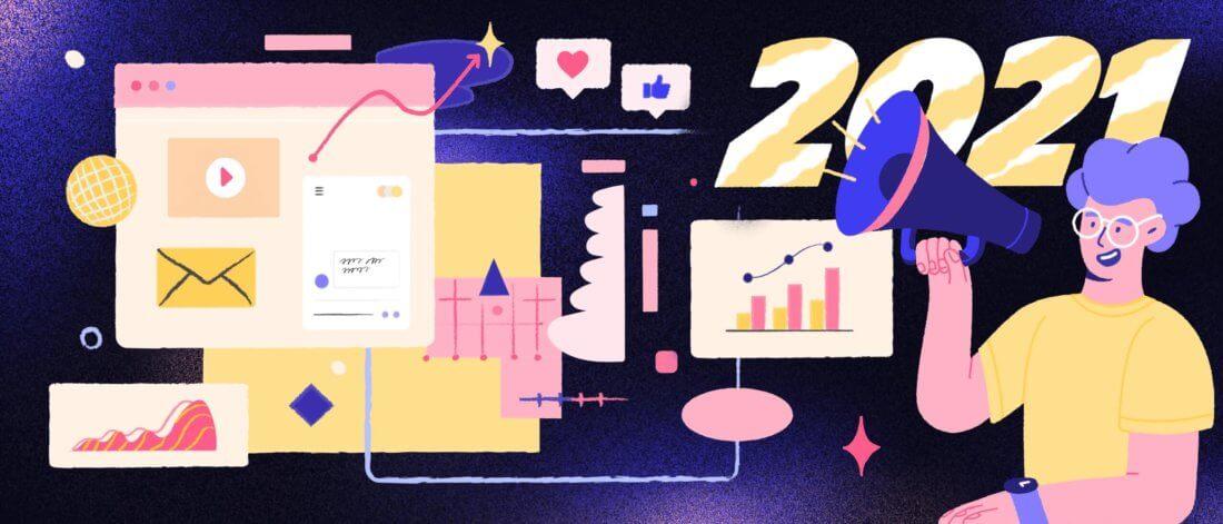 Инсайты итренды продвижения бизнеса в2021